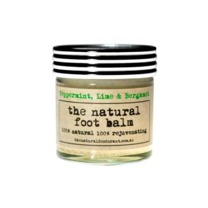 The Natural Deodorant, Foot Balm